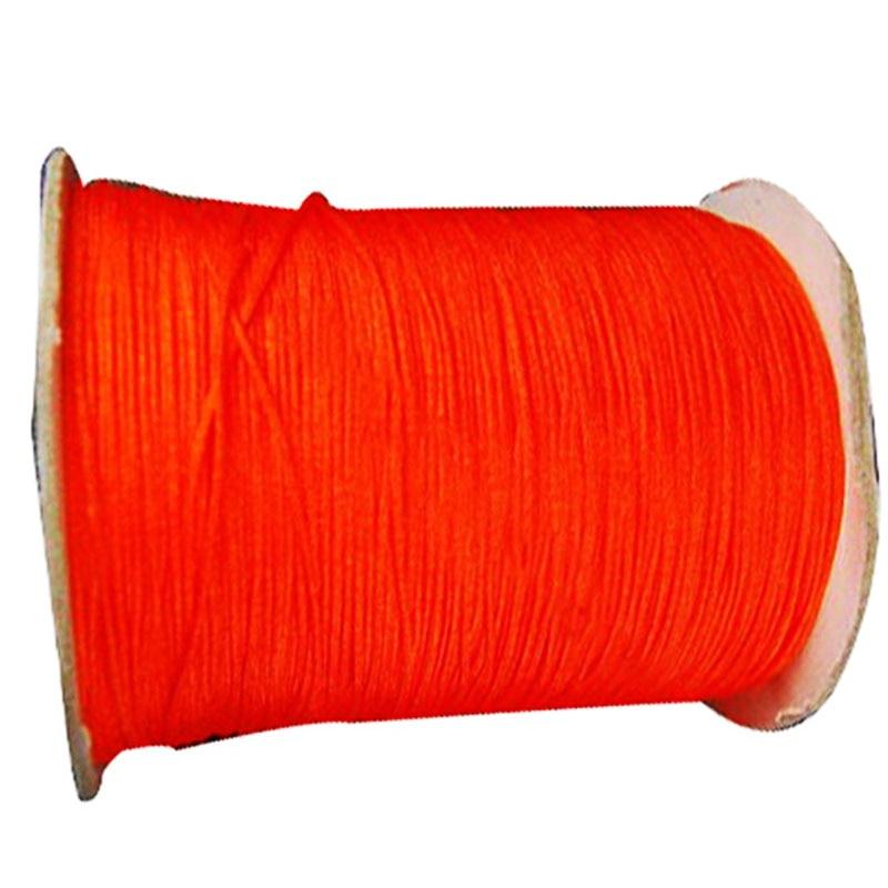 1.5mm Neon Tangerine Rattail Satin Braid Nylon Cord+Macrame Rope  Bracelet Beading Cords String Accessories 200m/Roll
