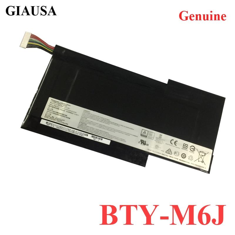 Batería de ordenador portátil BTY-M6J auténtica al por mayor para tableta MSI GS63VR GS73VR 6RF-001US BP-16K1-31 9N793J200