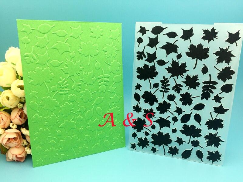 Folha de papel cartão plástico gravando pasta para diy scrapbook cartão envelope álbum quadro decoração modelo
