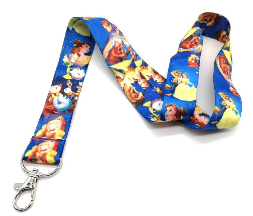 Lote de 10 Uds de cordones para teléfono móvil de dibujos animados de anime con correa para MP3 y cordón para el cuello con QW-274