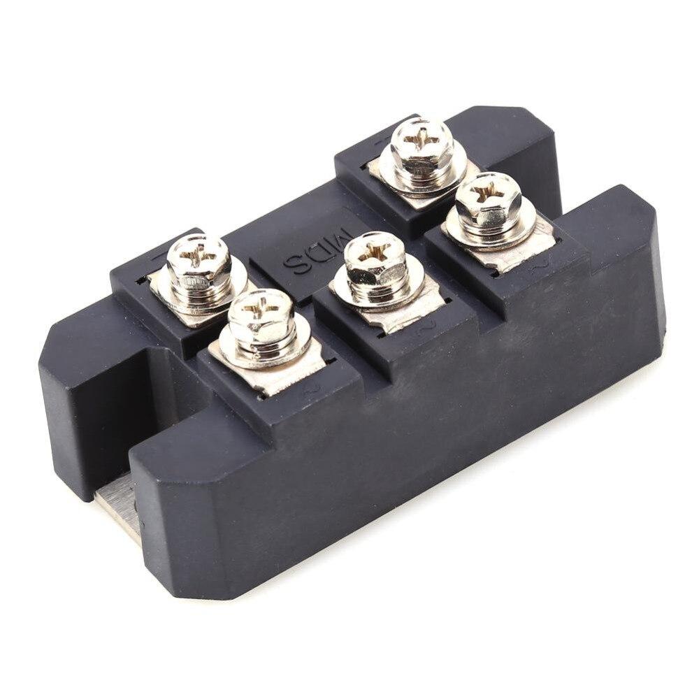 MDS150A 3-fase Puente rectificador de diodo módulo 150A 1600V cobre 150 ℃ Metal caso puente rectificador componentes electrónicos y suministros