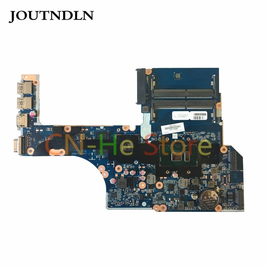 JOUTNDLN para HP PROBOOK 450 G3 470 G3 portátil placa base 855561-601 DAX63CMB6C0 W/I3-6100U CPU