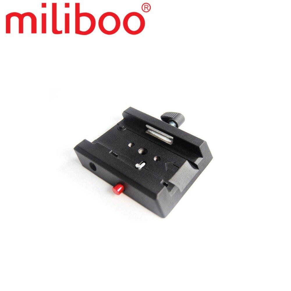 Miliboo سريعة الإصدار بلايت MYT804 السائل رئيس الكرة التبعي مع 1/4 ''و 3/8'' برغي استبدال كما ستستهدف