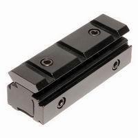 Picatinny scope mount Tri-rail Zwaluwstaart 11mm naar Weaver Picatinny Rail Adapter