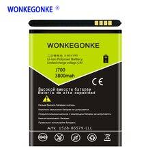 WONKEGONKE EB-BJ700BBC EB-BJ700CBE Batterie pour Samsung GALAXY J7 J7008 J700F SM-J7008 J7000 J700 ON7 G6000 J400