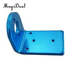 MagiDeal 1Pc bleu métal brossé Brushless moteur siège Base pour 370 380 390 2030 2040 2435 Brushless moteur RC voiture camion Buggy