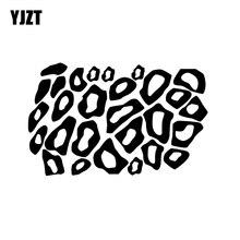 YJZT 16CM*10CM Minimalist Leopard Cheetah Animal Print Graphical For Car Sticker Vinyl Decal Black/Silver C11-1175