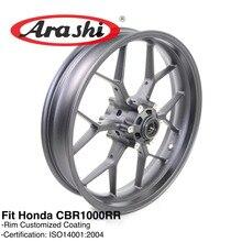 Arashi 프론트 휠 림 혼다 CBR1000RR CBR1000 RR 2008 2009 2010 2011 2012 2013 2014 2015 2016 2017 CBR 1000 골드 블랙
