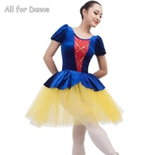Blancanieves y los enanos Ballet baile vestido de baile para disfraz para niño/de Ballet para adultos tutú para baile ropa de escenario