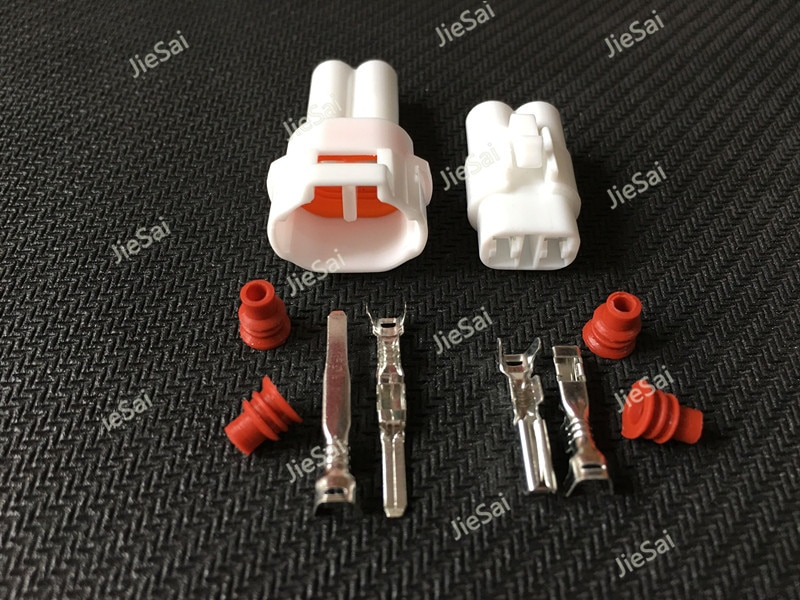 2 Pin macho hembra forma eléctrico a prueba de agua conector de cable conector macho Auto FW-C-2M-B FW-C-2F-B