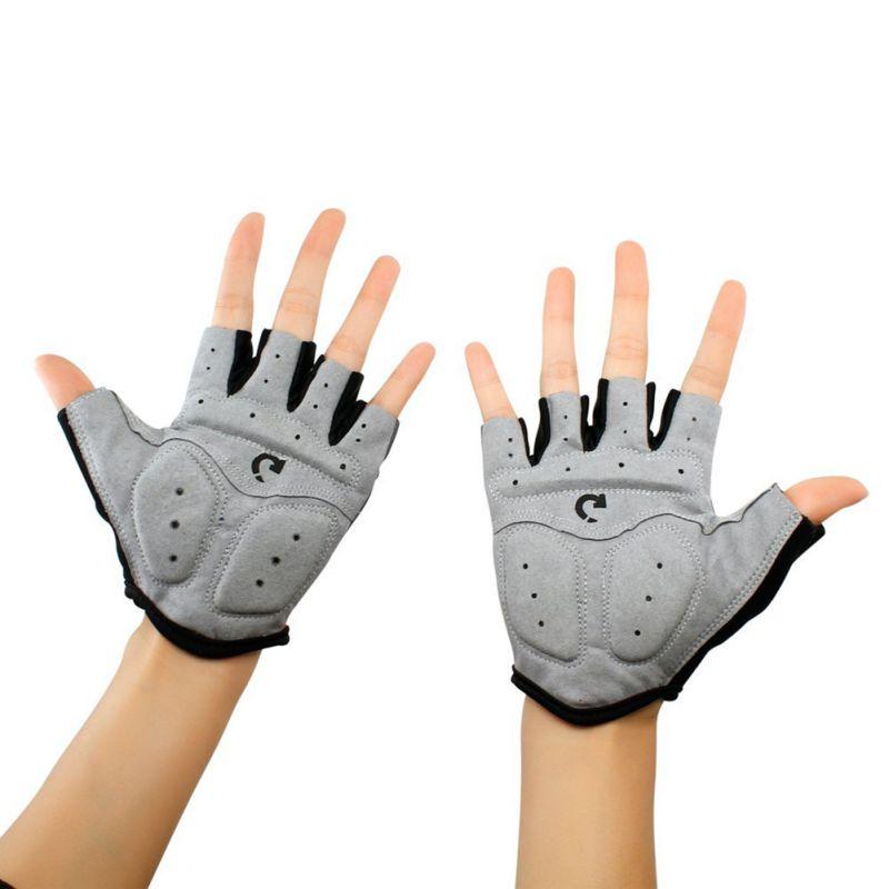 Уличные велосипедные перчатки, спортивные перчатки с полупальцами, противоскользящие Гелевые перчатки, велосипедные перчатки для езды на ...