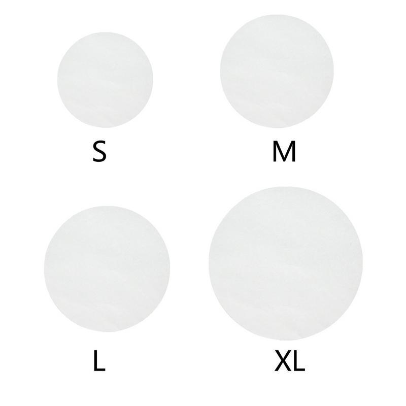 Papel de pergamino redondo de 11cm/16cm/20cm/24cm, papel de hornear de silicona antiadherente, utensilios de pastelería, hamburguesas, 40