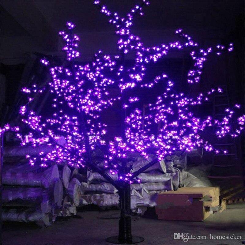 مصباح شجرة عيد الميلاد LED ، 1248 قطعة ، للاستخدام الداخلي أو الخارجي ، ارتفاع 1.8 متر/6 أقدام ، شحن مجاني