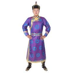 4 cores robe para homens longo mongolia mongolia roupas mongólia roupas trajes nacionais chineses para homens
