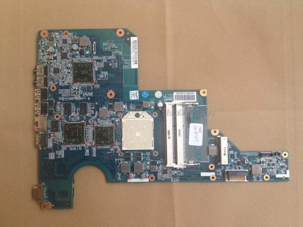 Placa base HOLYTIME para ordenador portátil hp CQ62 G62 610161-001 para cpu AMD con tarjeta gráfica integrada ATI HD5430 DDR3