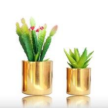 Vase en céramique plaqué or/argent   Accessoires de décoration de chambre aristocratique décoration de maison, fleur de plantation de jardin de salon