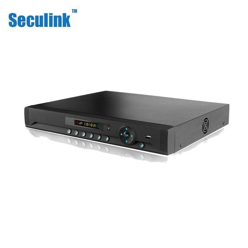 Seculink 16CH 32CH 1080N 5-в-1 AHD DVR видеорегистратор видеонаблюдения HDMI VGA H.265 сжатие P2P Облако поддержка 2 HDD