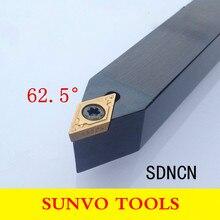 SDNCN 1212H11/1616H11/2020K11/2525M11 CNC outils de tournage fixation à vis support doutil de tournage externe utiliser DCMT DCGT 070204/11T308