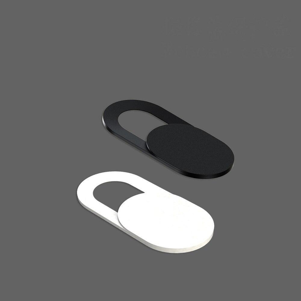 50-500 Uds cubierta Universal de la cámara Web Ultra delgada del obturador Slider cubierta de la Lente de la cámara para Web IPhone Macbook iPad portátiles Etiqueta de privacidad