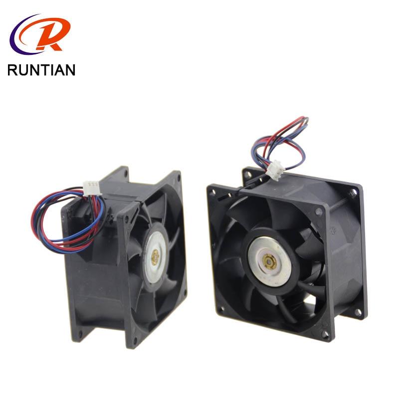 Ventilador de Metal Flora de alta calidad de 8*8cm para lámpara UV para Flora piezas de repuesto para impresora de inyección de tinta