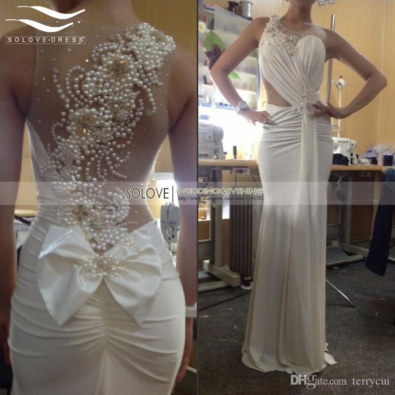 Сексуальное шифоновое пляжное свадебное платье 2019 шифоновое свадебное платье расшитое бисером свадебное платье Casamento Vestido De Noiva SLD-E99