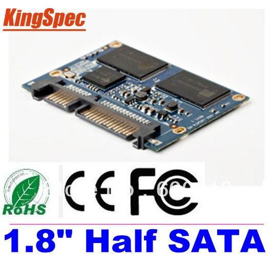 Kingspec 1,8 pulgadas medio SATA III SATA II módulo MLC 128GB 4 canales para Hpme reproductor HD ¡tablet PC UMPC, ETC discos duros disco duro