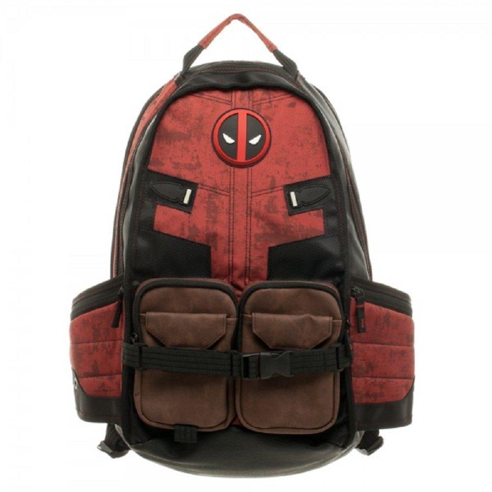 Comics Deadpool superhéroe película guerra Civil mochilas escolares para hombres mochilas de viaje