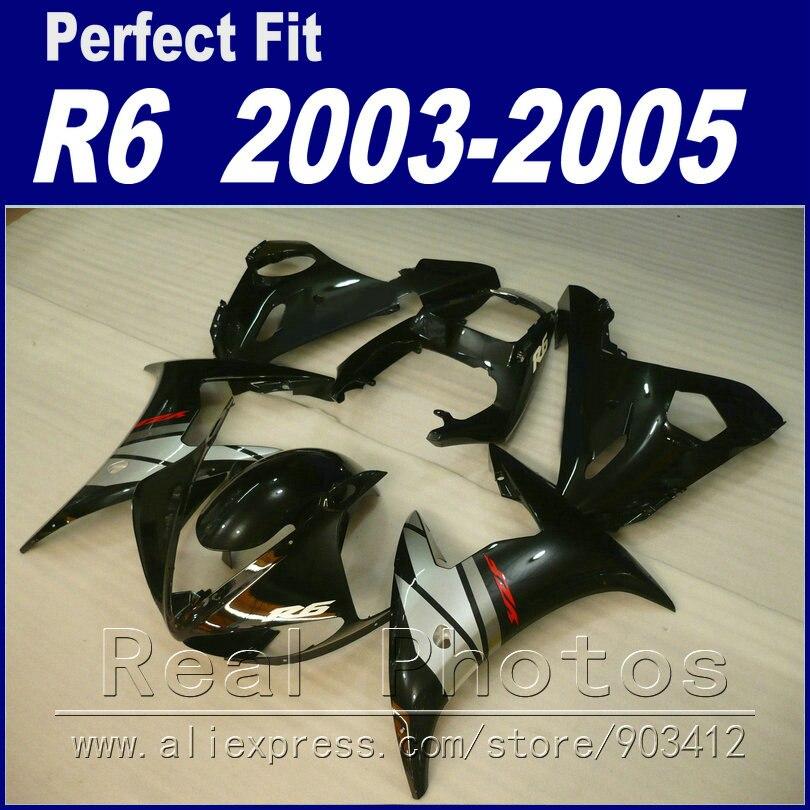 Лидер продаж комплект обтекателей для YAMAHA R6 2003 2004 2005 обтекатели YZF 03 04 05 yzf r6 r6 body