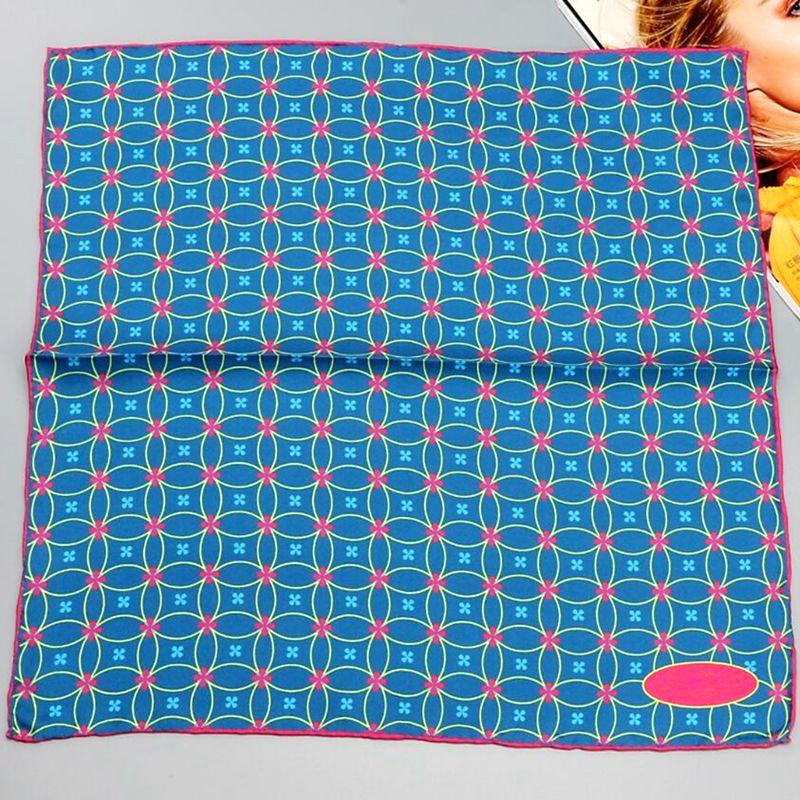 Hanscarf quadrado seda scarfs feminino 2017 moda impressão 100% puro lenço de seda envolve bandana pescoço cachecol acessórios para o cabelo