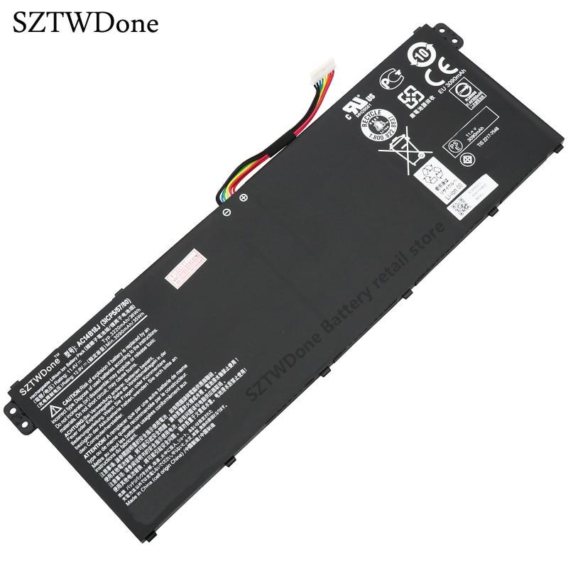 SZTWDone, batería para ordenador portátil, AC14B18J para ACER Aspire CB3-111-C670 CB3-111 ES1-571-34R6 ES1-512-C323 MS2394 E3-112-C2RQ 11,4 V 3220MAH