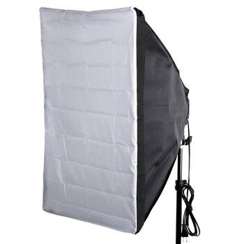 "Portable 50 * 70cm / 20"" * 28"" Umbrella Softbox Reflector for Speedlight External White Cover"