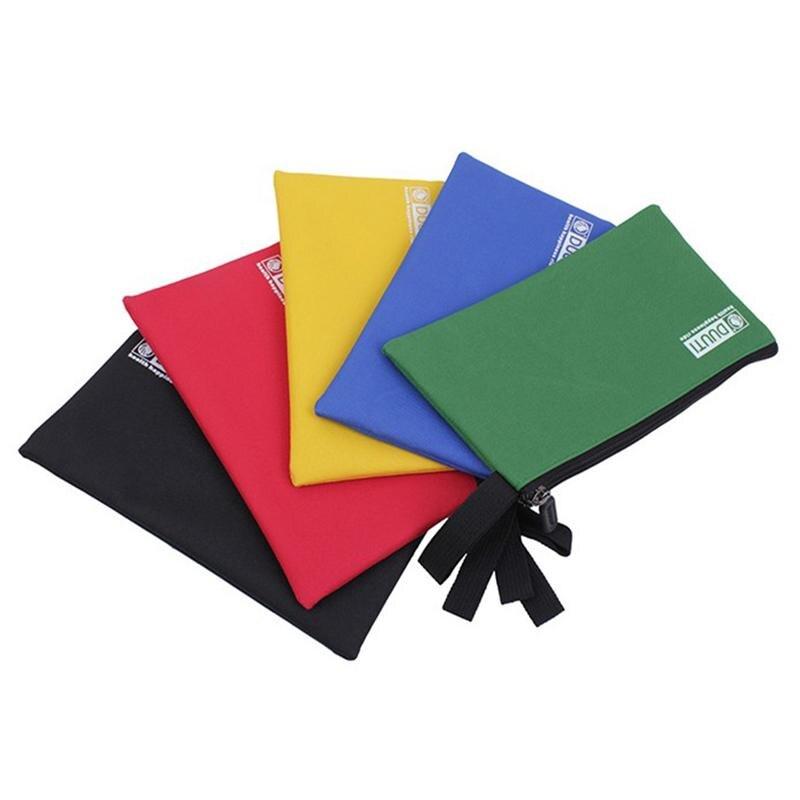 Bolsas de almacenamiento WINOMO, 5 uds., multiuso, de lona, con cremallera, bolsa organizadora