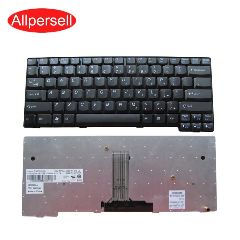 Teclado del ordenador portátil para Lenovo E49 K49 E49A K49A E49L E49G E49AL E4430 E4430A E4330G nuevo negro