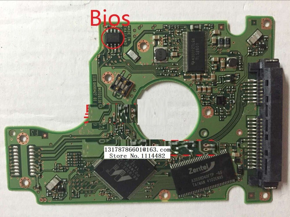 220 0A90427 01 envío gratis 100% Original HDD PCB tablero lógica Disco Duro HTS5455016B9A300 placa de circuito 220 0A90427 01