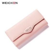 Weichen Pu Leather Women wallet 2020 long lady purse brand designer casual female wallet coin purse