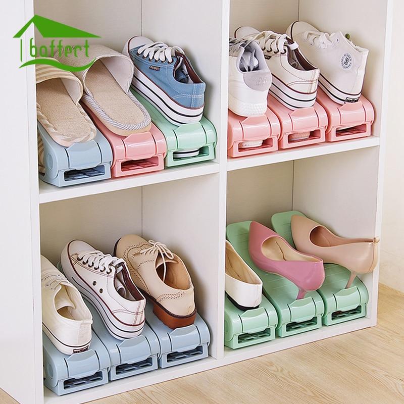 Органайзер для горячего башмака, двойная обувь с широкой колодкой, держатель для чистки обуви, сохранение пространства, стойка для обуви, по...