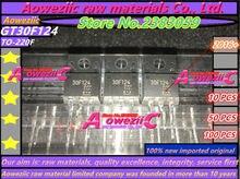 Aoweziic  100% new imported original  GT30F124  30F124  TO-220F liquid crystal plasma common tubes