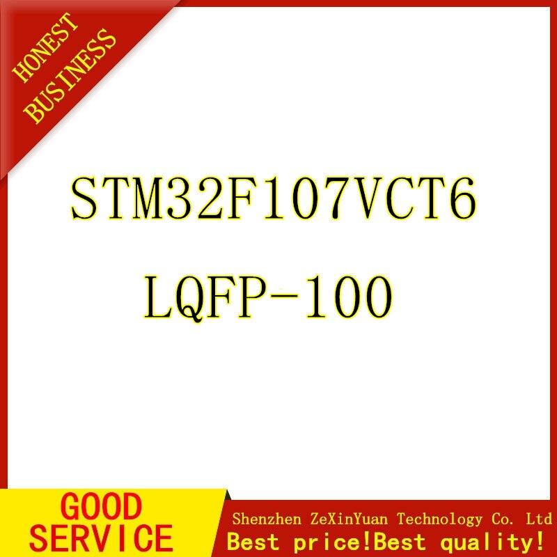 5 uds STM32F107VCT6 STM32F107 32F107 LQFP-100