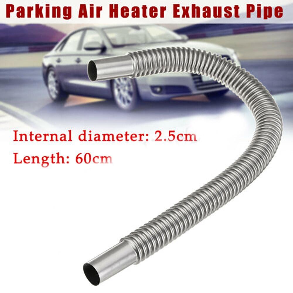 60 см Автомобильная выхлопная труба парковочный воздушный обогреватель бак дизельный газовый вентиляционный шланг Автомобильная выхлопна...