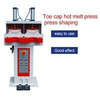 Shoe head hot-melt cloth press machine shaping for hot-melt lining and upper bonding machine equipment before banding
