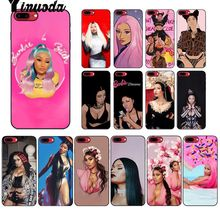 Yinuoda Queen Nicki Minaj Luxury Unique Design Phone Cover for iPhone 8 7 6 6S Plus 5 5S SE XR X XS MAX Coque Shell