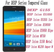 2 STUKS Screen Protector mobiele telefoon Voor DEXP Ixion ML250 X150 M750 ES950 ES850 ES355 ES1050 G155 Gehard Glas Film beschermende