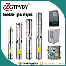 4fla3-65-1.1 220c ac gerador de energia da bomba de água solar nunca vender todas as bombas renovadas borehole bombas de água solar para poços