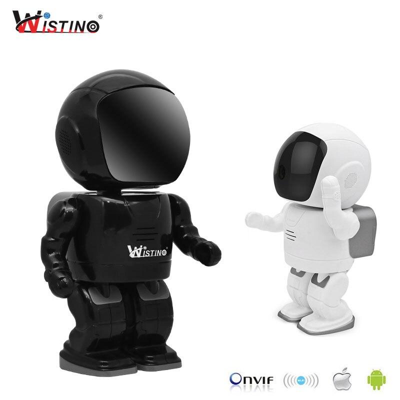 Wistino HD 1080P CCTV cámara IP inalámbrica PTZ WIFI Robot cámara de visión nocturna vigilancia Smart Home Video bebé Monitor interior