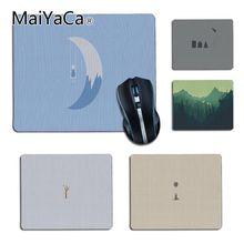 Maiyaca personalizado legal moda minimalista estilo único desktop pad jogo mousepad para jogo de jogar amante