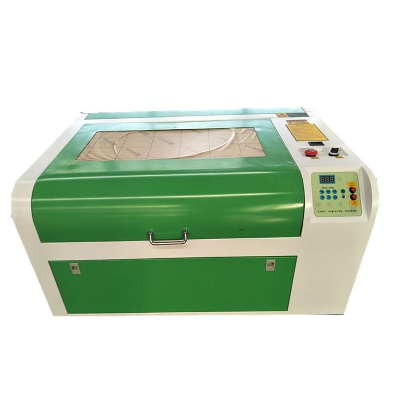 80W 600*400mm máquina de grabado láser Co2 máquina de corte con grabadora láser DIY máquina de marcado de corte láser