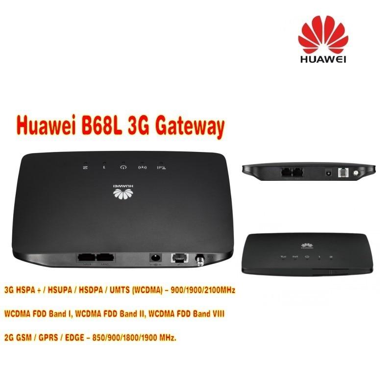 جهاز توجيه لاسلكي أصلي غير مقفول من هواوي B68L الجيل الثالث 3G HSPA + 21Mbps واي فاي لاسلكي بوابة 900/2100MHZ + هواوي الجيل الثالث 3g الأصلي هوائي