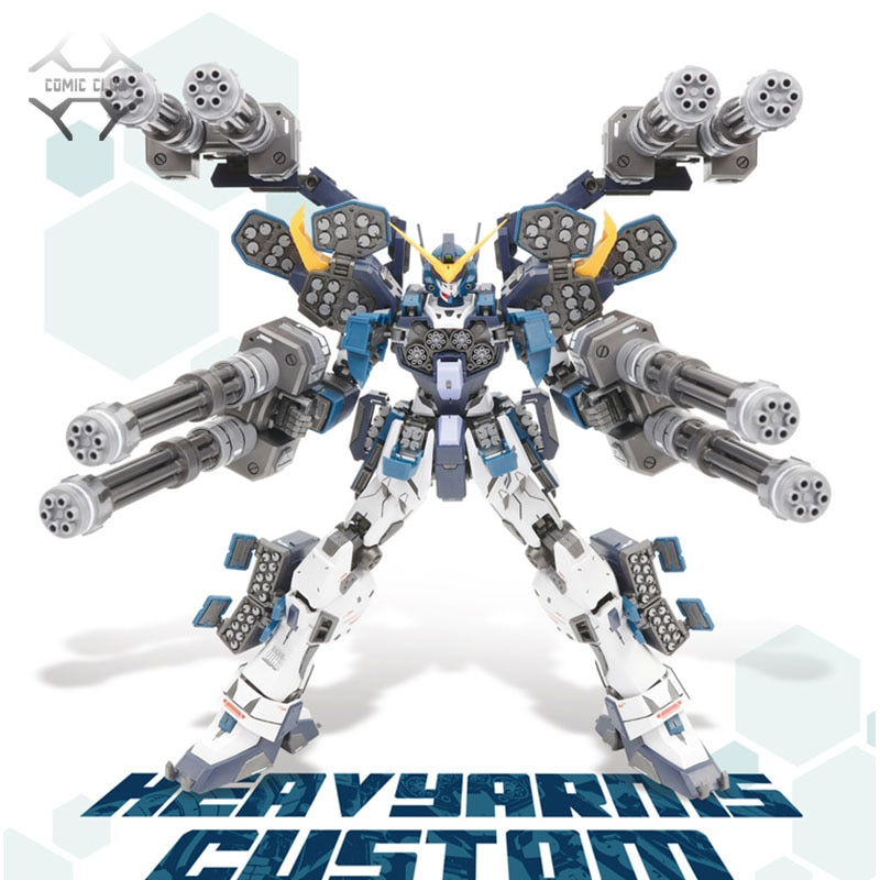 COMIC CLUB en stock Super Nova XXXG-01S2 W Gundam Heavy arms kit personalizado modelo MG 1/100 figura de acción ensamblaje de juguete
