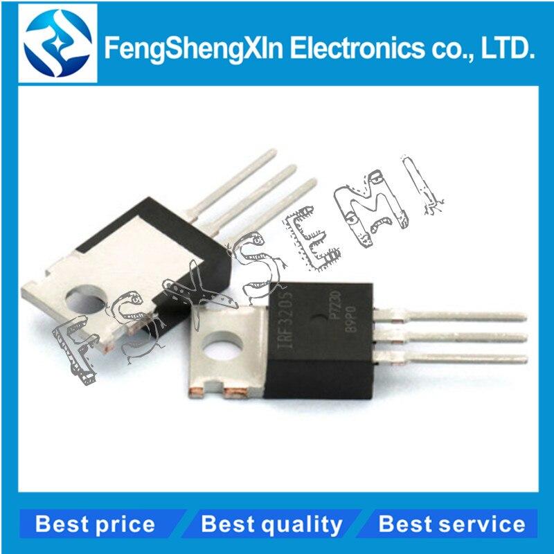 10 unids/lote IRF3205 IRF3205N IPF3205PBF-220 MOSFET de potencia