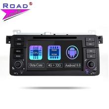 TOPNAVI-autoradio 2 Din 4G + 32 go Android 8.0   Octa Core, Autoraido pour BMW 3 série E46 MG ZT Rover 75, voiture stéréo, GPS, Navigation, autoradio